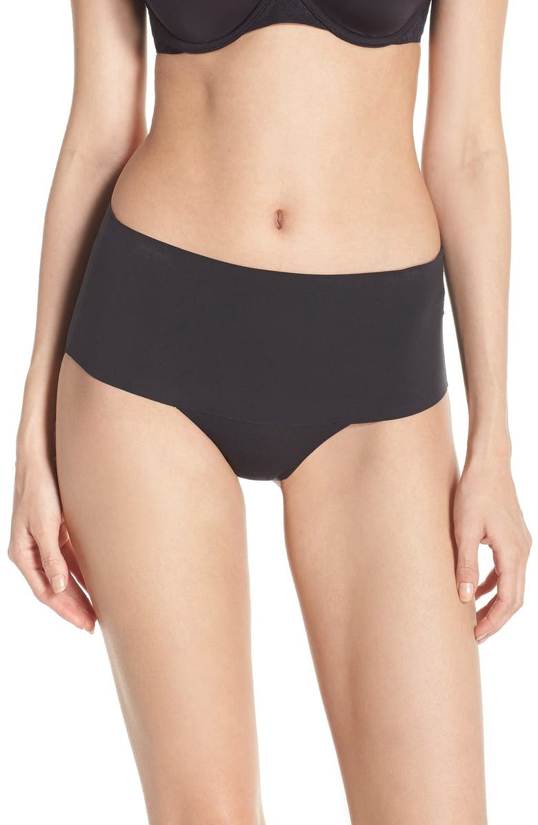 SPANX<SUP>®</SUP> Undie-tectable<sup>®</sup> Briefs, Main, color, VERY BLACK