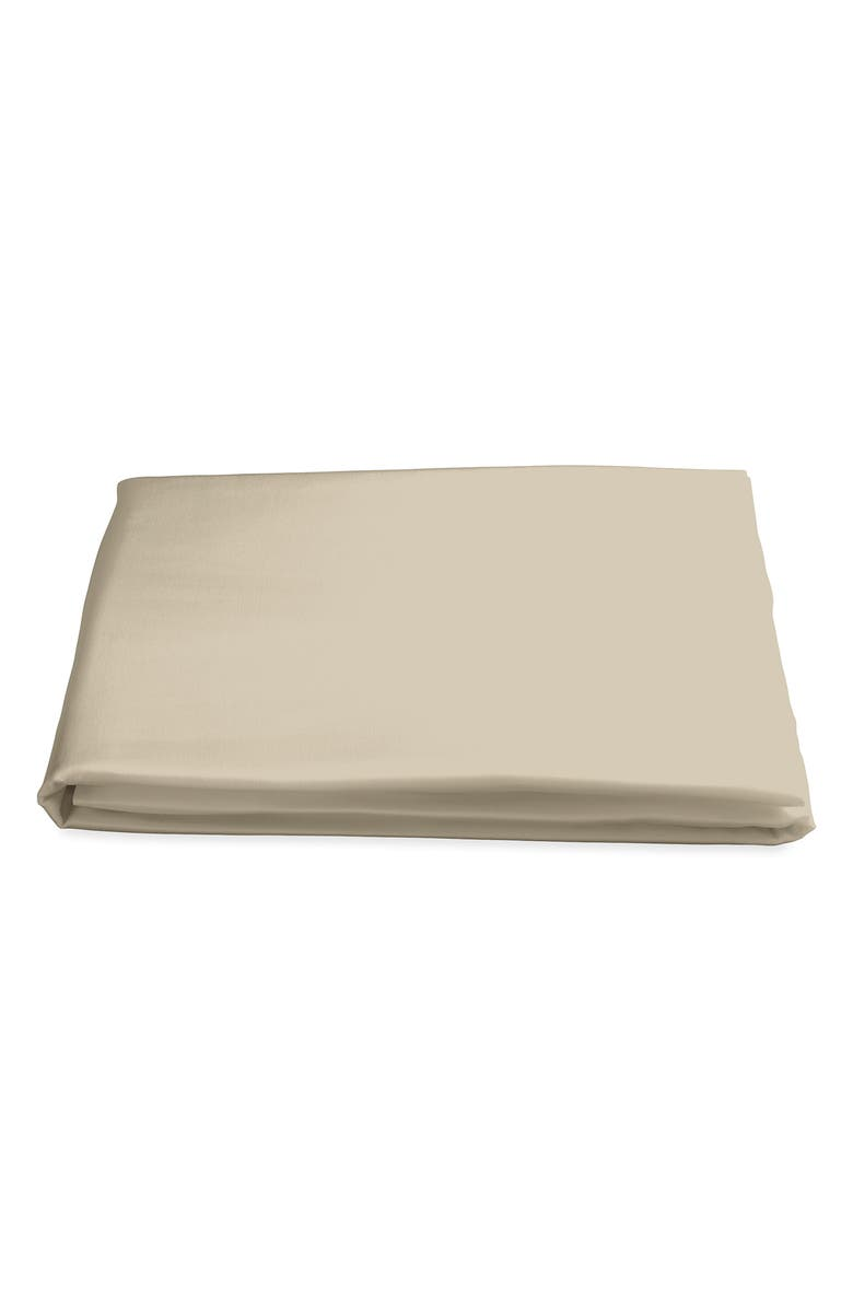 MATOUK Nocturne 500 Thread Count Fitted Sheet, Main, color, CHAMPAGNE