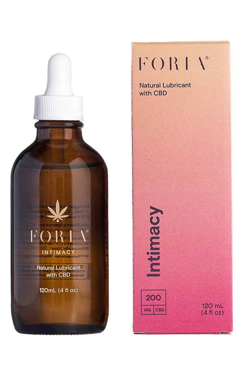 FORIA Intimacy Natural Lubricant with CBD, Main, color, NO COLOR