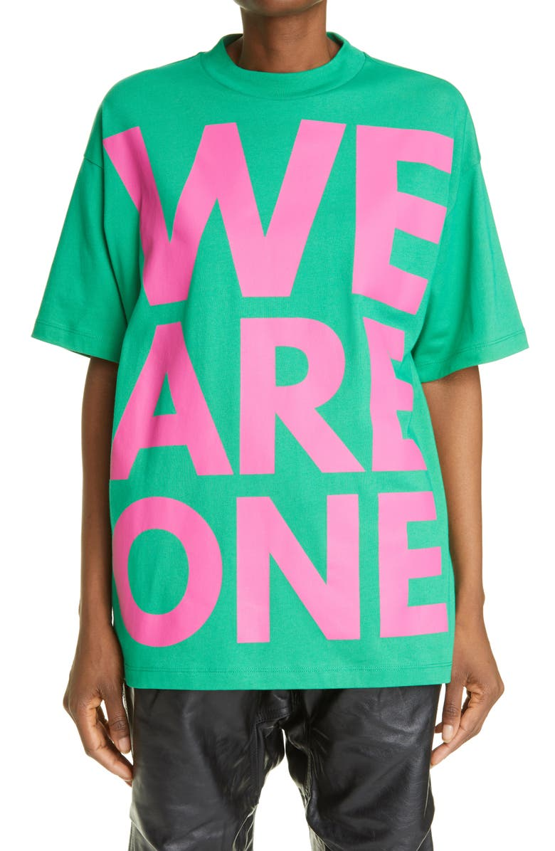 HFD Unisex We Are One Graphic Tee, Main, color, 300