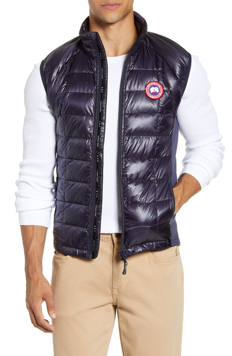 CANADA GOOSE 'Hybridge<sup>™</sup> Lite' Slim Fit Packable Quilted 800-Fill Down Vest, Main, color, NAVY