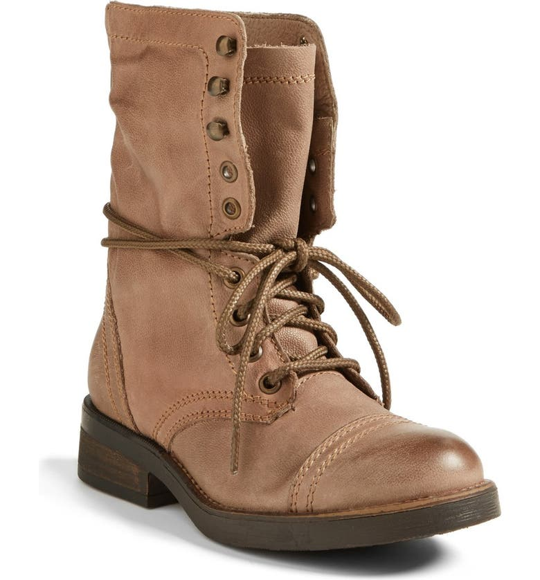STEVE MADDEN 'Munch' Military Boot, Main, color, 020