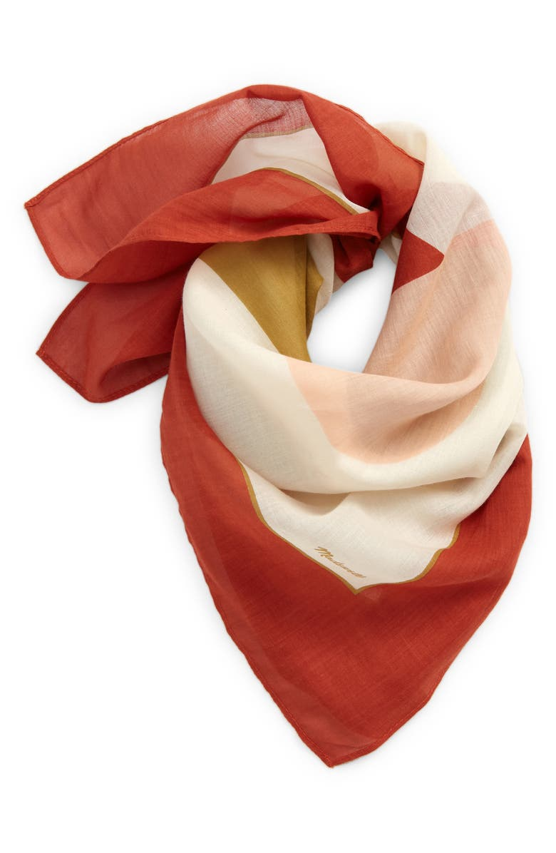 MADEWELL Bandana, Main, color, AFTERGLOW RED