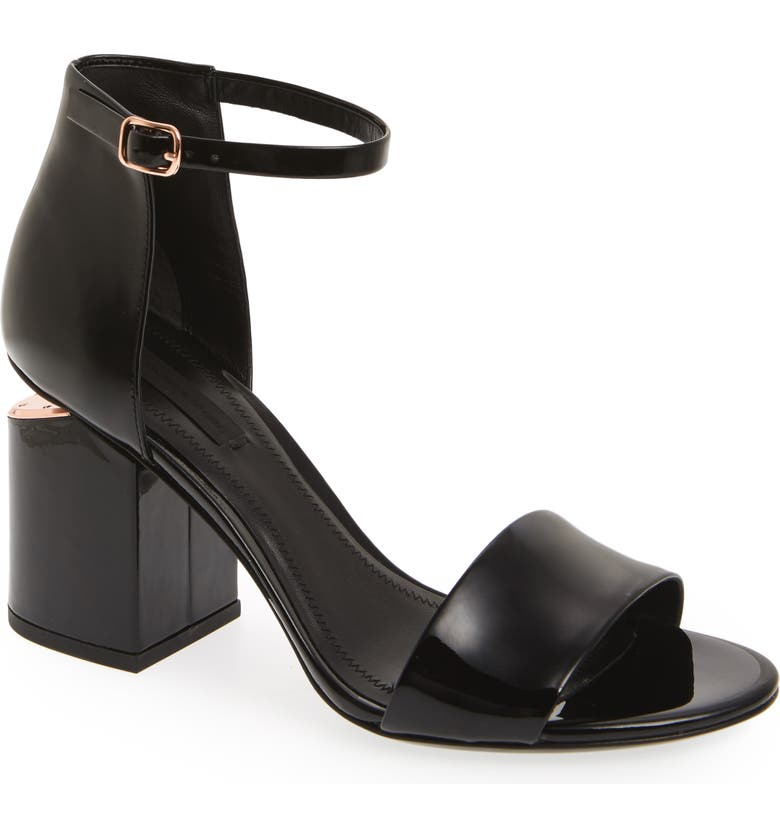 ALEXANDER WANG Abby Sandal, Main, color, 001