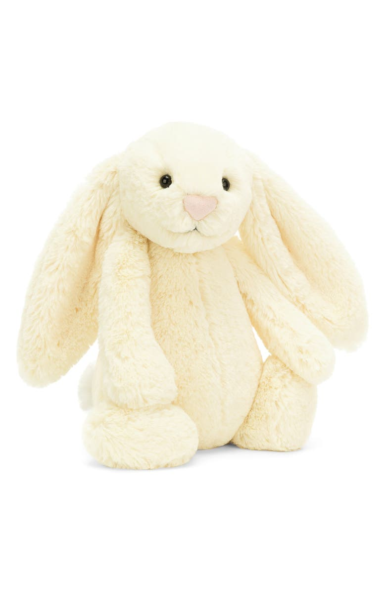 JELLYCAT Medium Bashful Buttermilk Bunny Stuffed Animal, Main, color, 700