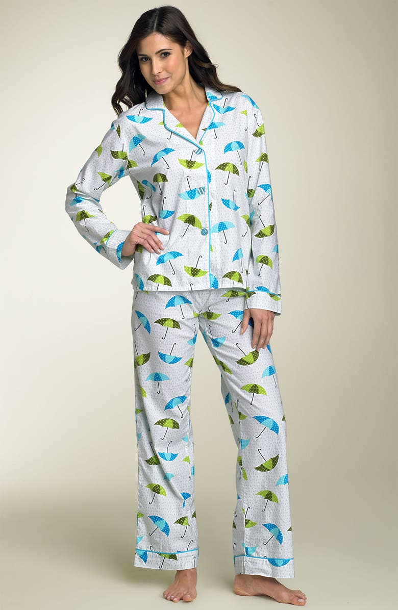 PJ SALVAGE Pajamas, Main, color, 100