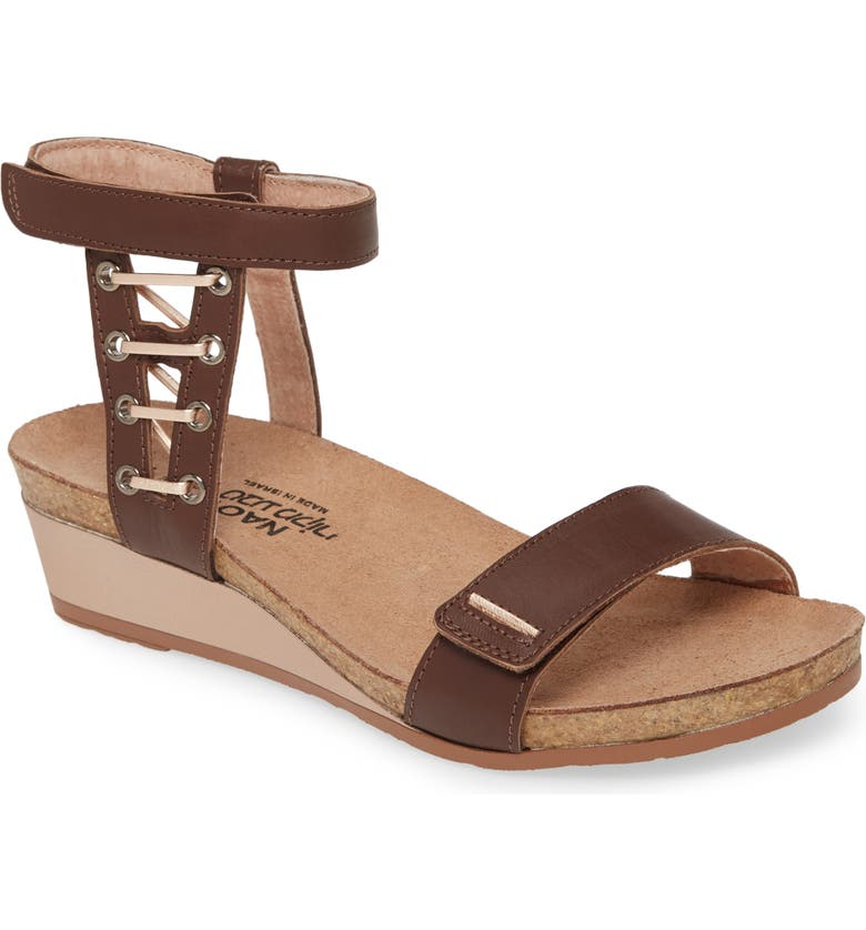 NAOT Wizard Sandal, Main, color, TOFFEE BROWN LEATHER