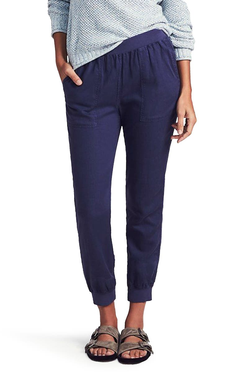 FAHERTY Arlie Day Pants, Main, color, NAVY