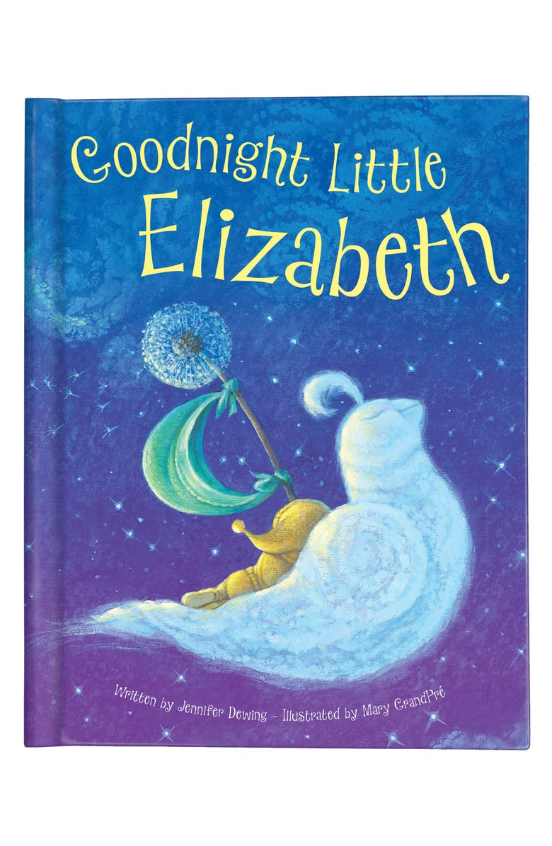 I SEE ME! 'Goodnight Little Me' Personalized Book, Main, color, BLUE