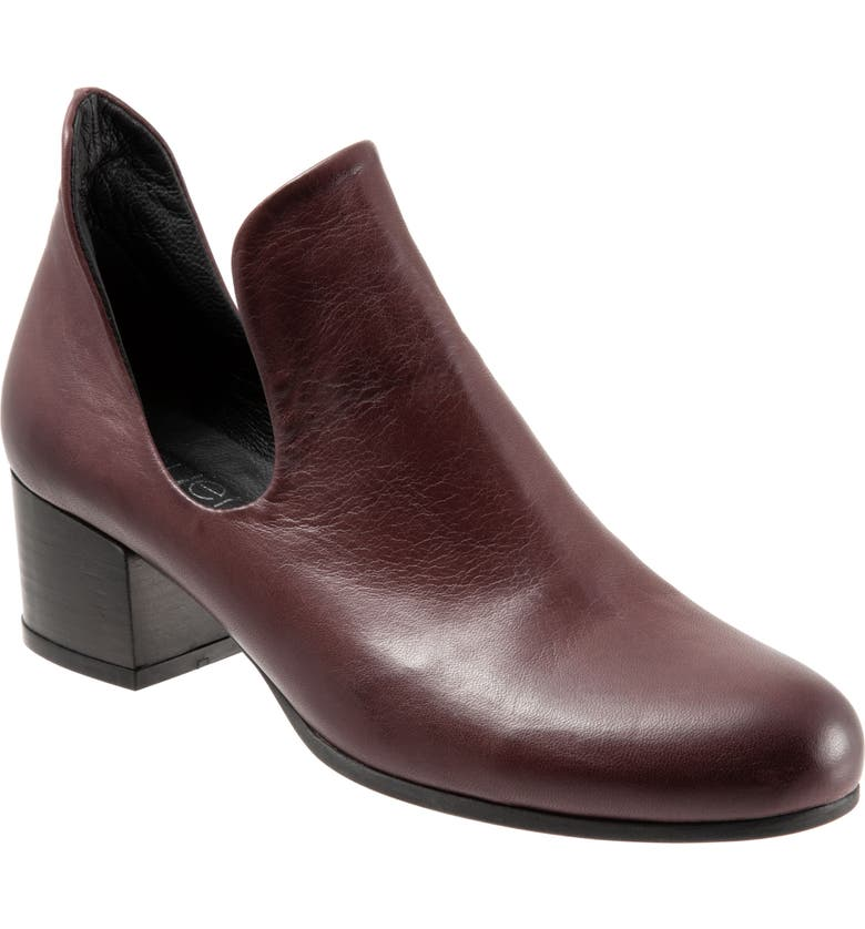 BUENO Mick Bootie, Main, color, BORDEAUX LEATHER