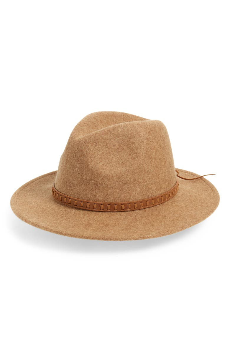 TREASURE & BOND Wool Felt Panama Hat, Main, color, 230