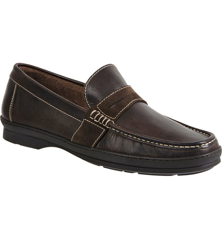 SANDRO MOSCOLONI Reid Penny Loafer, Main, color, 200