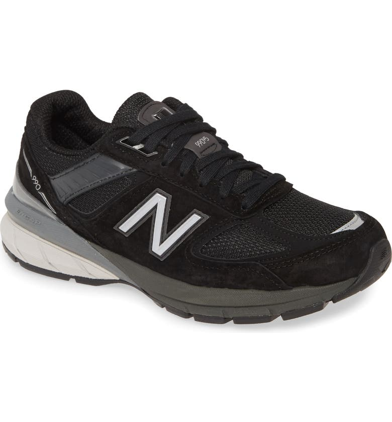 NEW BALANCE 990v5 Sneaker, Main, color, Black