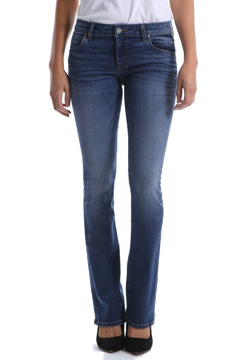 KUT FROM THE KLOTH Natalie Bootcut Jeans, Main, color, FELLOWSHIP