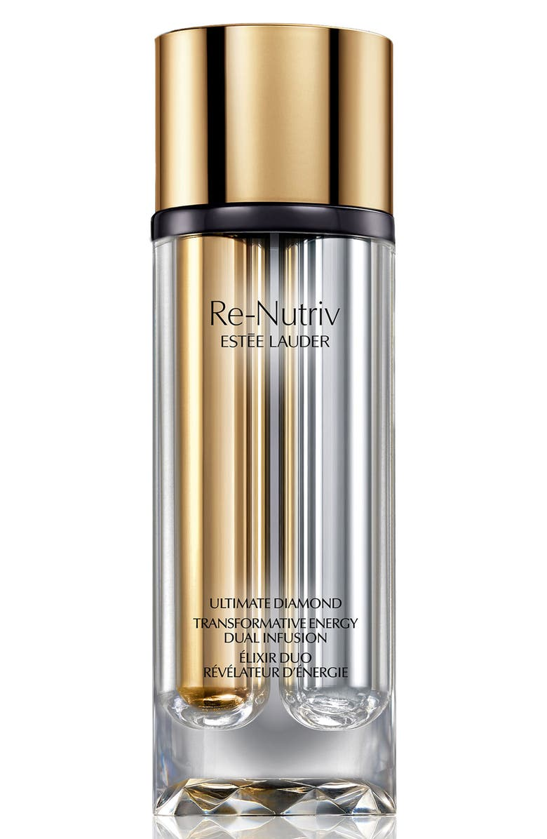 ESTÉE LAUDER Re-Nutriv Ultimate Diamond Transformative Energy Dual Infusion Serum, Main, color, NO COLOR