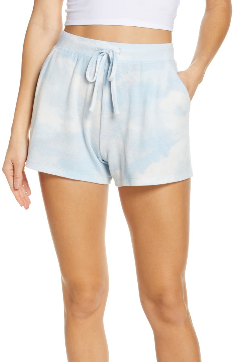 BP. Comfy Shorts, Main, color, BLUE DREAM IN THE CLOUD