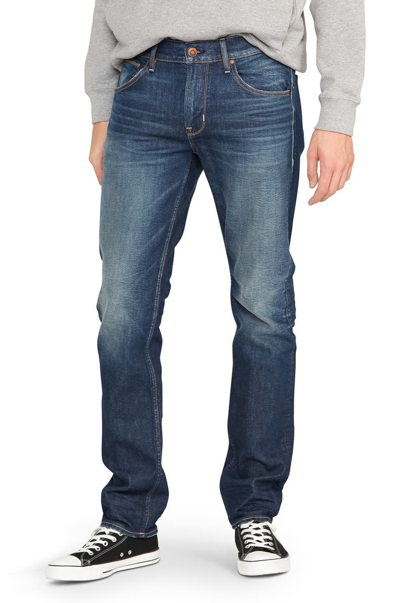HUDSON JEANS Byron Slim Straight Leg Jeans, Main, color, 400