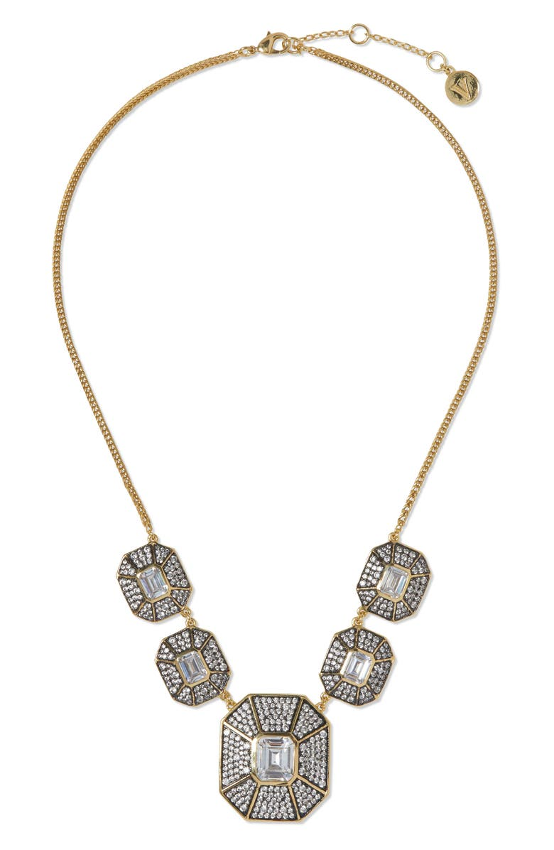 VINCE CAMUTO Statement Necklace, Main, color, Gold