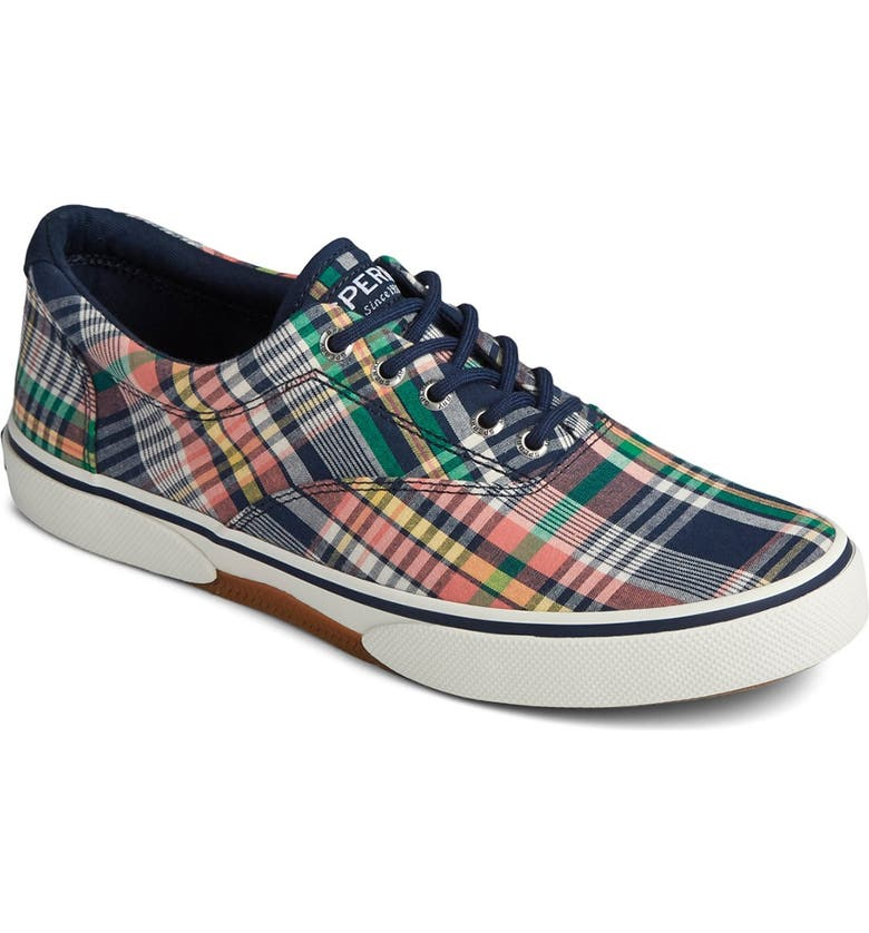 SPERRY Halyard CVO Casual Sneaker, Main, color, PLAID