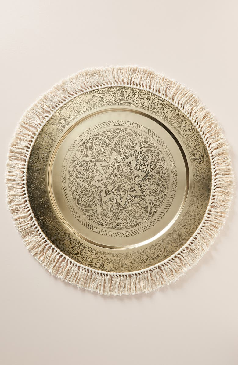 ANTHROPOLOGIE HOME Anthropologie Lina Decorative Tray, Main, color, 200
