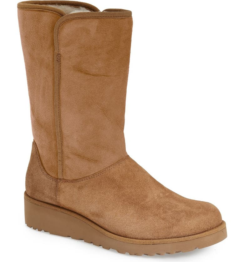 UGG<SUP>®</SUP> Amie - Classic Slim<sup>™</sup> Water Resistant Short Boot, Main, color, 219