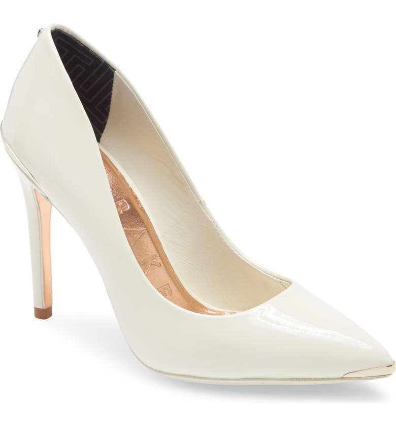 TED BAKER LONDON Izbell Pointed Toe Pump, Main, color, 110