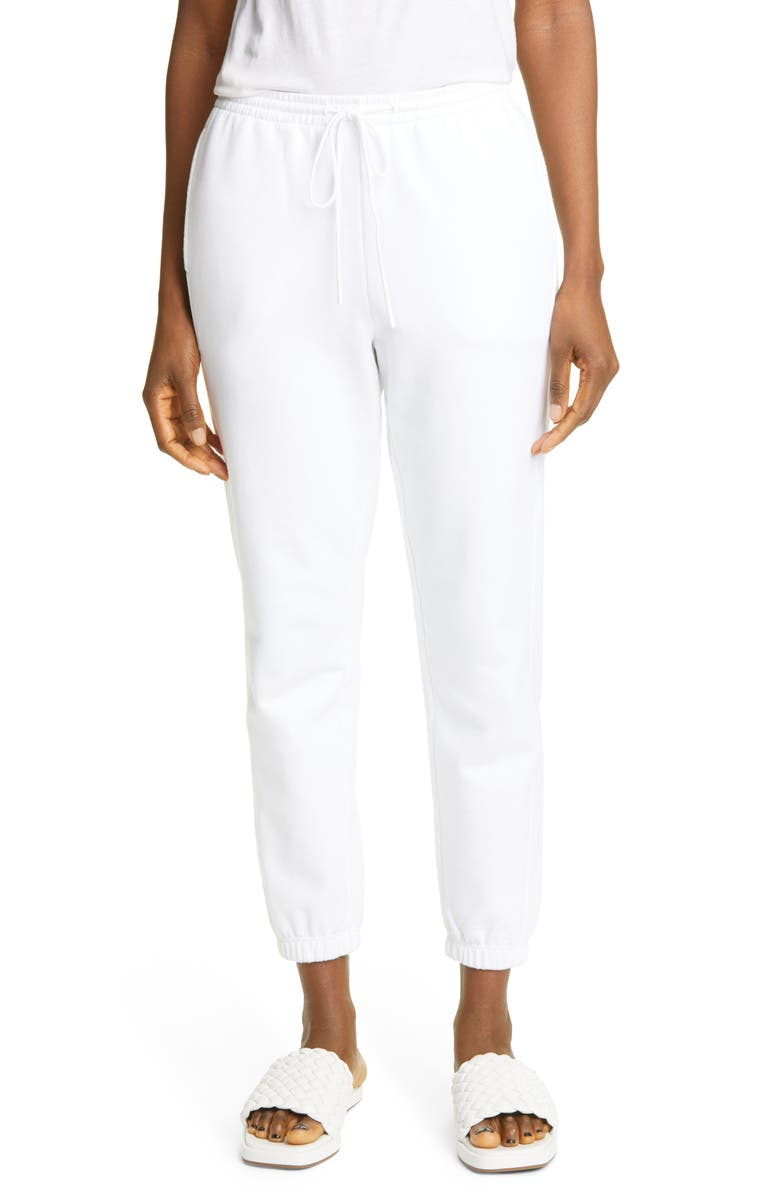 VINCE Essential Joggers, Main, color, OPTIC WHITE