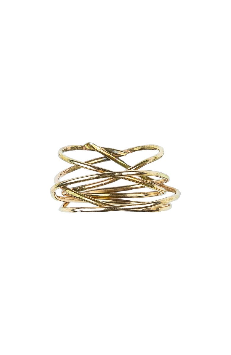 NASHELLE Storm Ring, Main, color, Gold