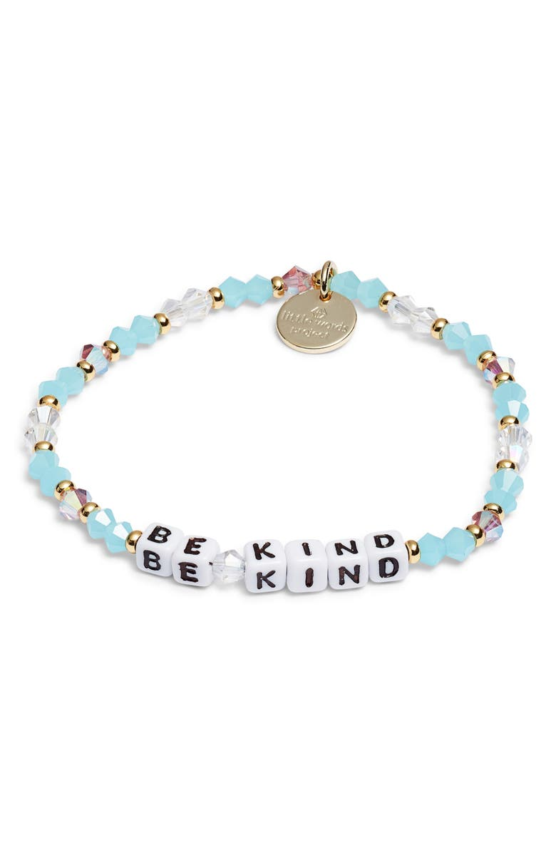 LITTLE WORDS PROJECT Be Kind Bracelet, Main, color, 100