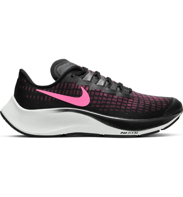 NIKE Air Zoom Pegasus 37 GS Running Shoe, Main, color, 001