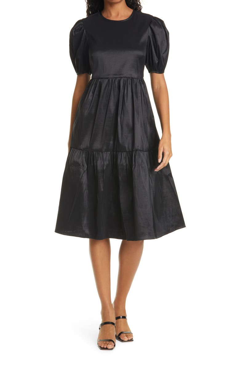 LIKELY Mitchell Tiered Dress, Main, color, 001