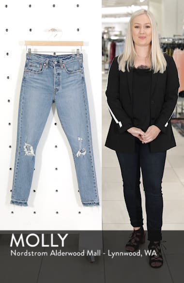 501<sup>®</sup> Ripped Skinny Jeans, sales video thumbnail
