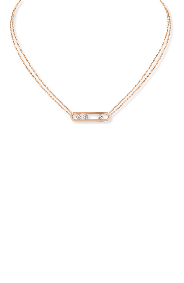 MESSIKA Two Strand Move Diamond Necklace, Main, color, 712