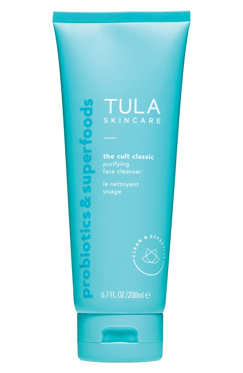 TULA SKINCARE The Cult Classic Purifying Face Cleanser, Main, color, No Color