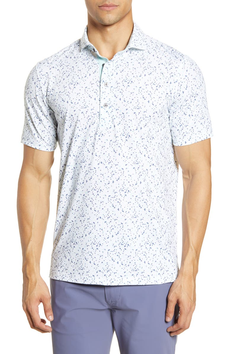 GREYSON Angel Tears Performance Polo, Main, color, 100