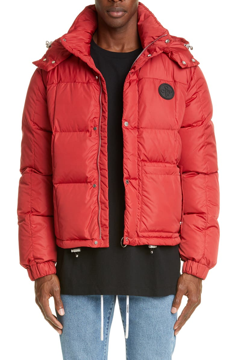 OFF-WHITE Puffer Jacket, Main, color, 600