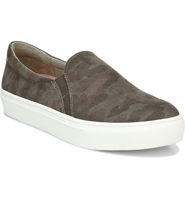 DR. SCHOLL'S Nova Slip-On Sneaker, Main, color, OLIVE FABRIC