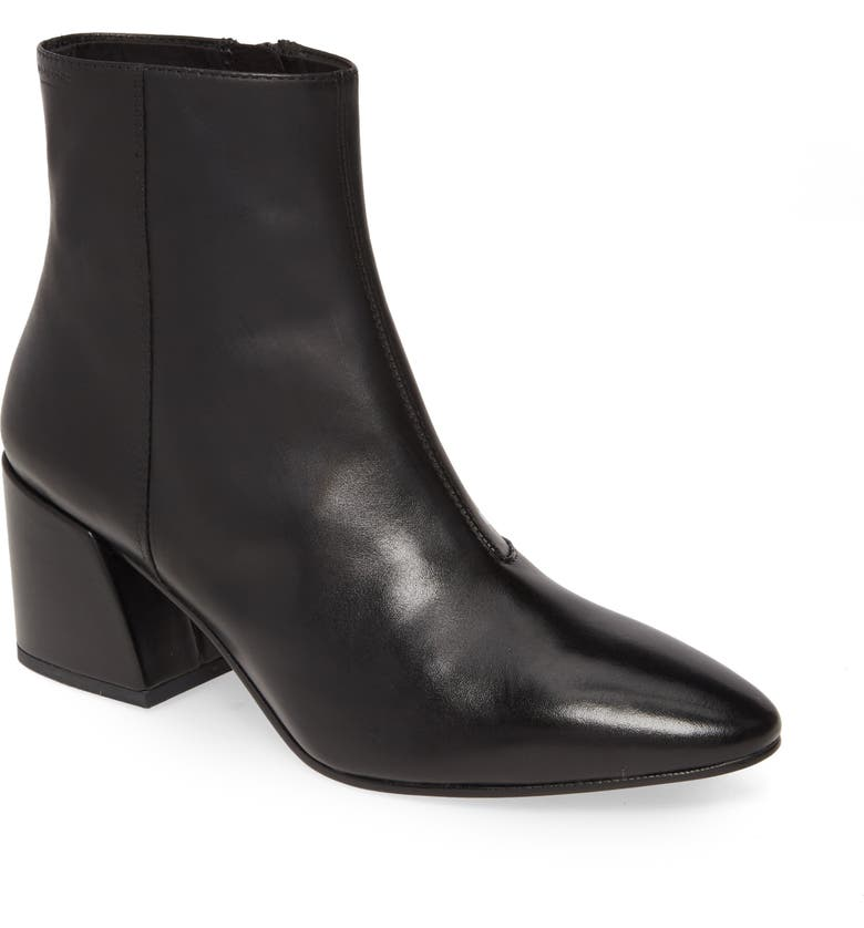 VAGABOND SHOEMAKERS Olivia Bootie, Main, color, BLACK LEATHER