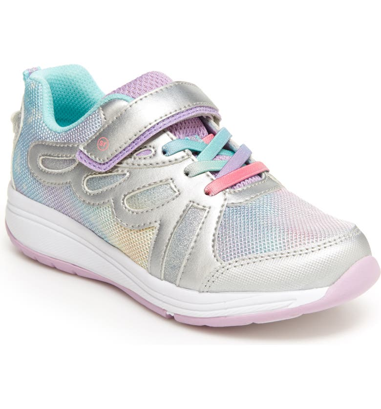 STRIDE RITE Fly Away Light-Up Sneaker, Main, color, MULTI