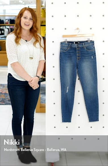 Donna High Waist Ankle Skinny Jeans, sales video thumbnail