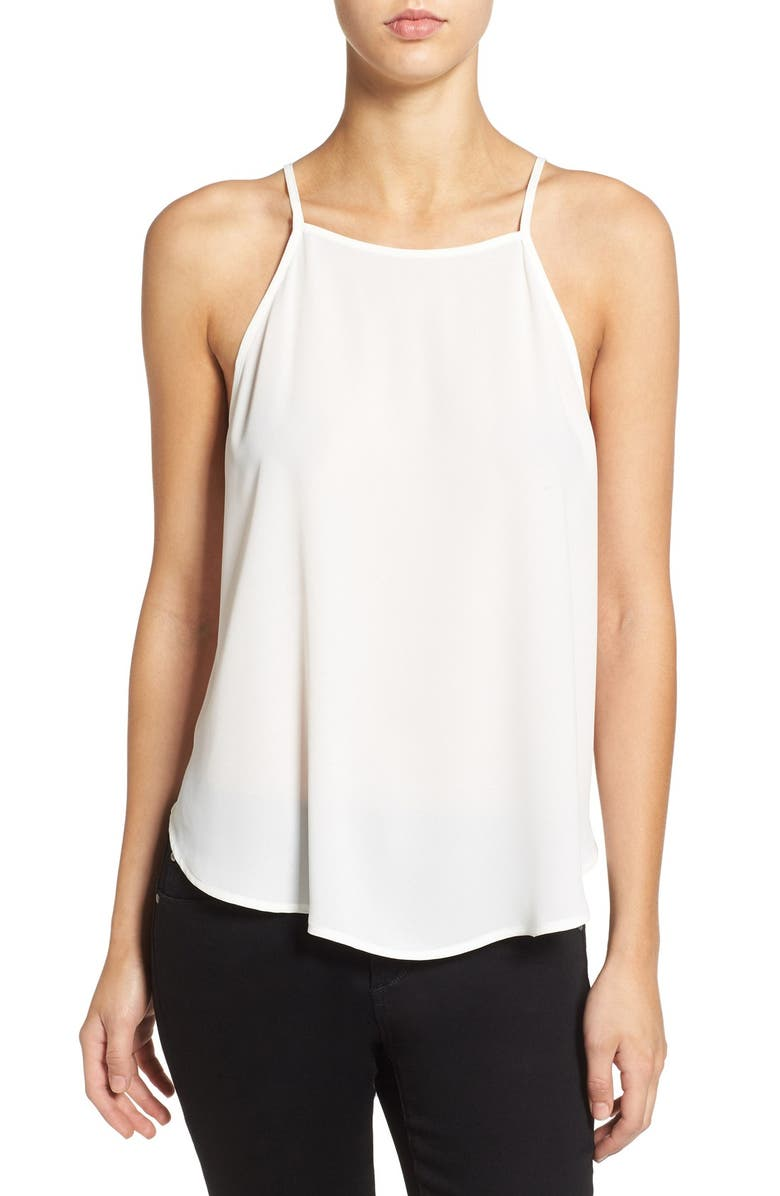 --- High Neck Woven Tank, Main, color, 123