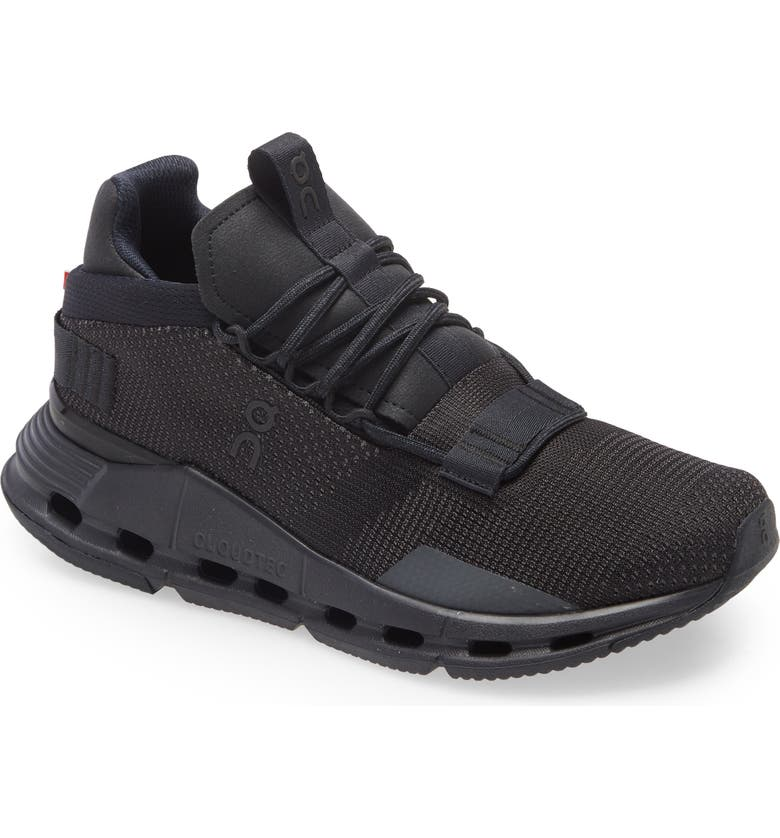 ON Cloudnova Sneaker, Main, color, BLACK/ ECLIPSE