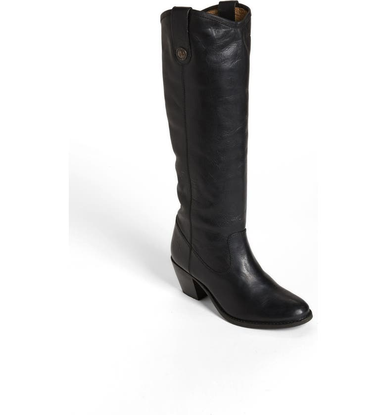 FRYE 'Jackie Button' Boot, Main, color, 001