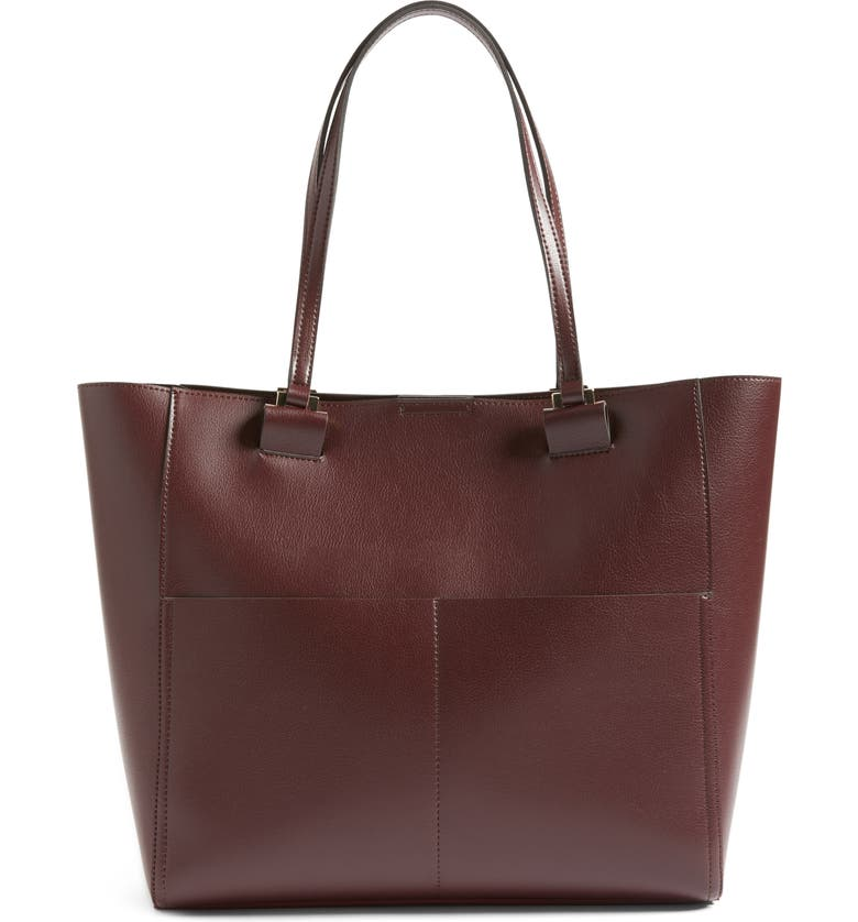 SOLE SOCIETY Glenn Faux Leather Tote, Main, color, 609