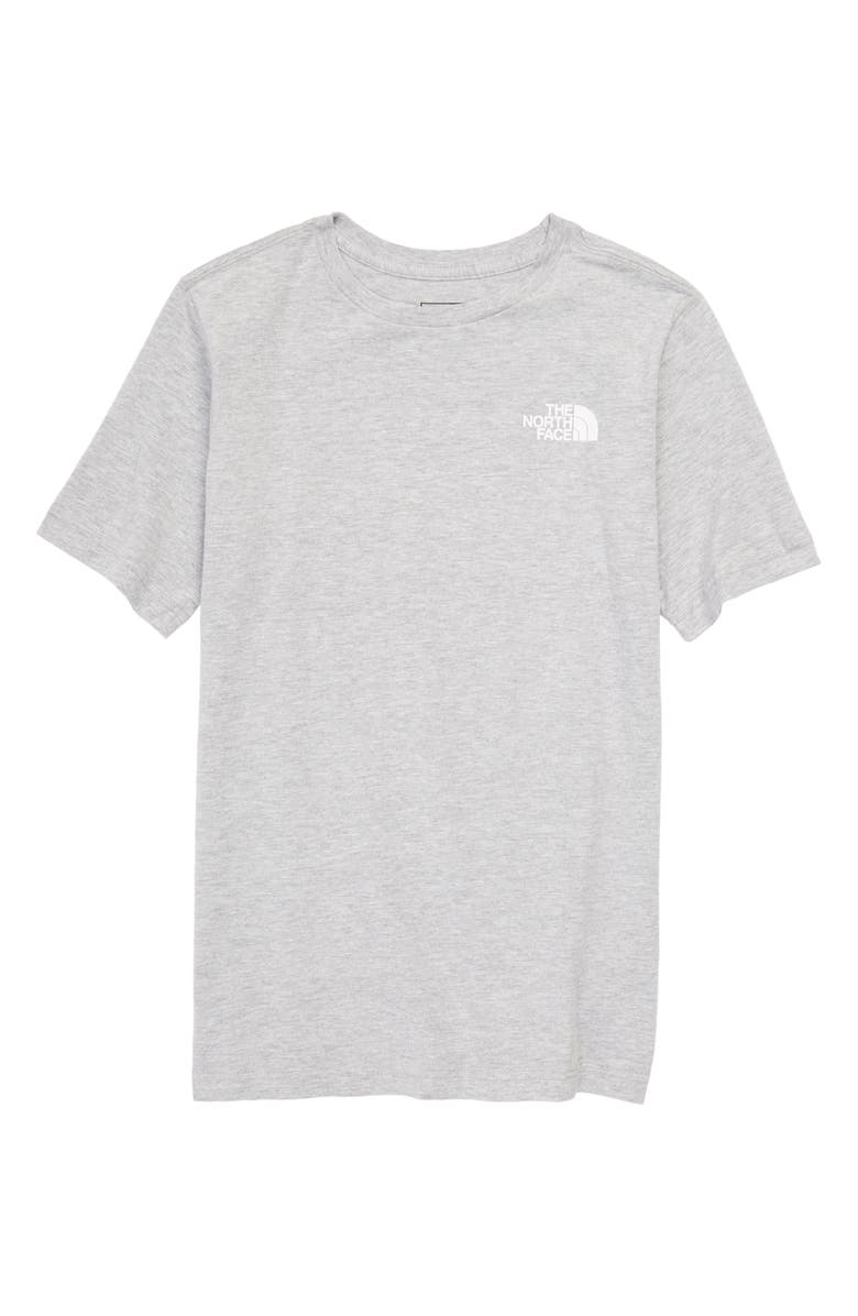 THE NORTH FACE Kids' Red Box Logo Graphic Tee, Main, color, 050