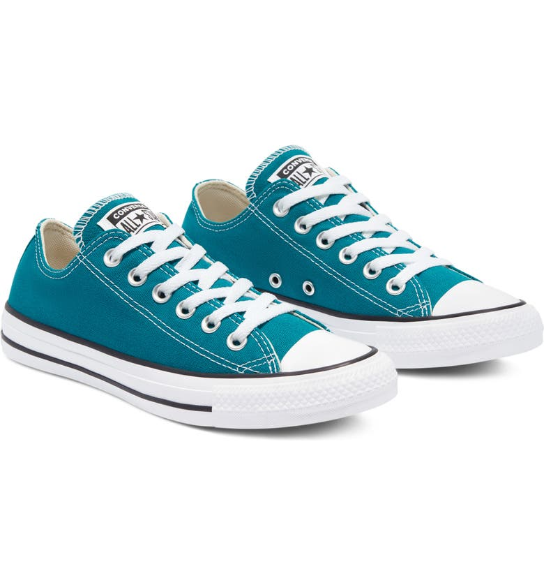 CONVERSE Chuck Taylor<sup>®</sup> All Star<sup>®</sup> Low Sneaker, Main, color, BRIGHT SPRUCE