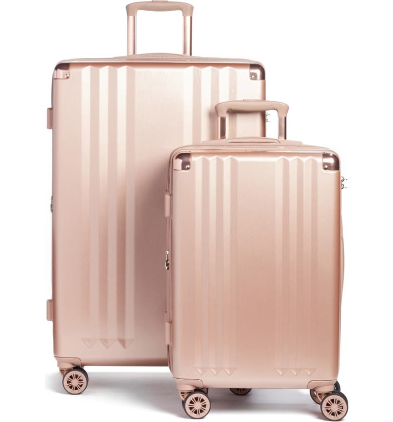 CALPAK Ambeur 2-Piece Spinner Luggage Set, Main, color, ROSE GOLD