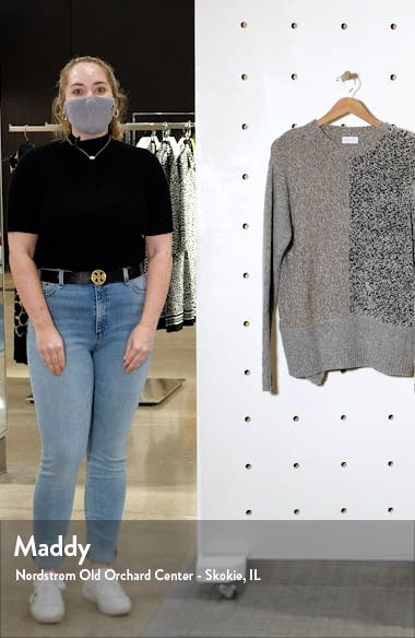 Mixed Knit Cashmere & Wool Sweater, sales video thumbnail