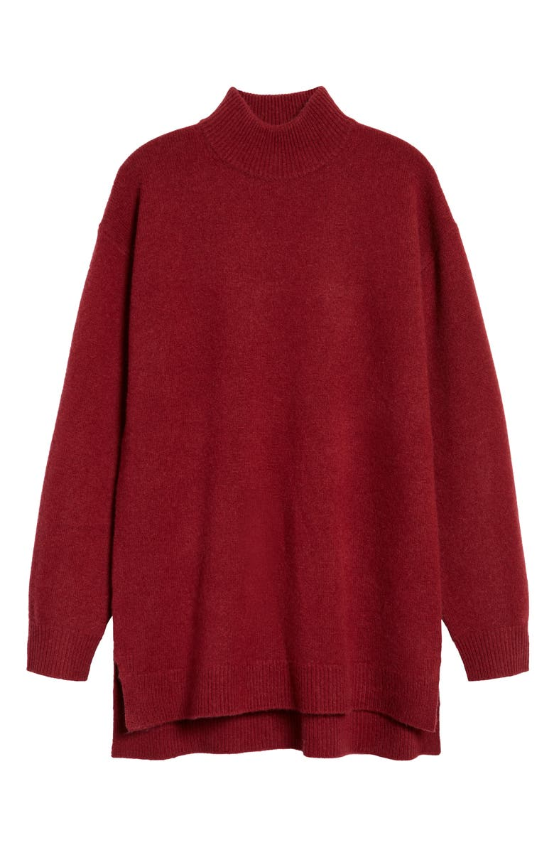 HALOGEN<SUP>®</SUP> Wool & Cashmere Turtleneck Sweater, Main, color, RED POMEGRANATE