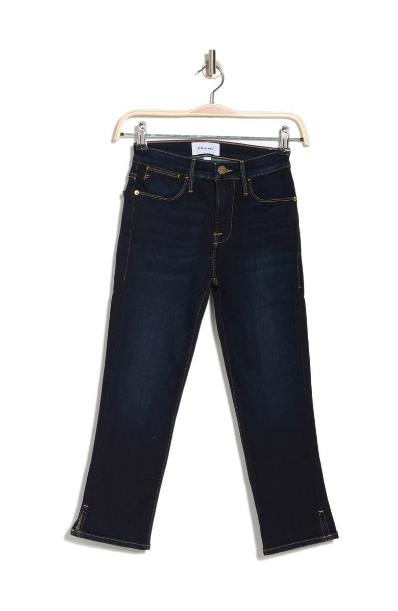 FRAME Le Pedal Cropped Skinny Jeans, Main, color, CABANA